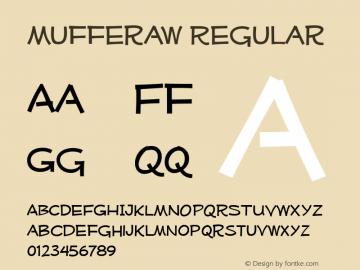 Mufferaw Regular Version 2.011 2004 Font Sample