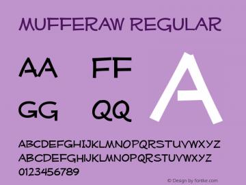 Mufferaw Regular Version 2.201 2004 Font Sample