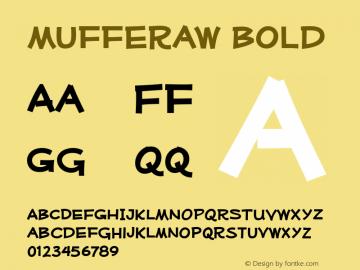 Mufferaw Bold Version 2.201 2004 Font Sample