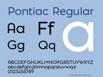 Pontiac Regular 1.000;com.myfonts.easy.la-goupil.pontiac.regular.wfkit2.version.4t8M Font Sample