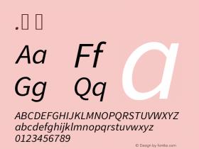 .  Version 1.075;PS 2.000;hotconv 1.0.86;makeotf.lib2.5.63406 Font Sample