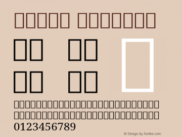 Nutso Regular Version 1.02 Font Sample