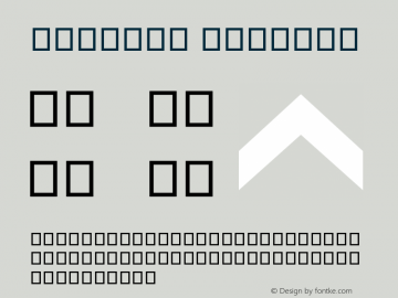 Symbols Regular Version 1.06图片样张