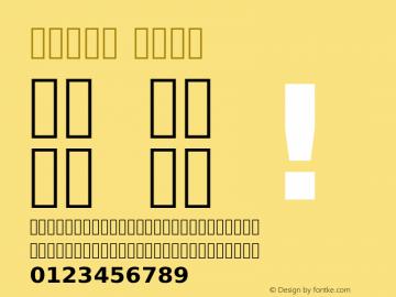 Vazir Bold Version 1.11; ttfautohint (v1.4.1.5-446e) Font Sample