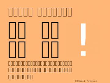 Vazir Regular Version 1.12.1; ttfautohint (v1.4.1.5-446e) Font Sample