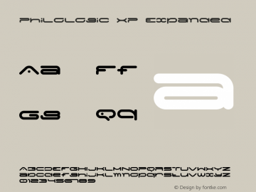 PhiloLogic XP Expanded Version 1.000 2015 initial release Font Sample
