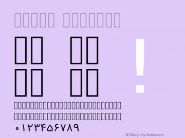 Vazir Regular Version 2-alpha; ttfautohint (v1.4.1.5-446e) Font Sample