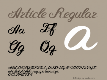 Article Regular Version 1.00 January 30, 2016, initial release图片样张