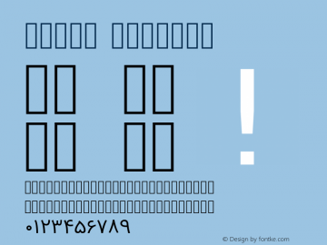 Vazir Regular Version 2-Beta-bugfix1; ttfautohint (v1.4.1.5-446e) Font Sample