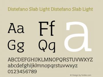 Distefano Slab Light Distefano Slab Light Version 1.001图片样张