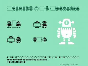 Robots HT Regular Version 1.000; initial release图片样张