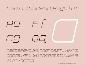 AspirinDazed Regular Version 4.10图片样张