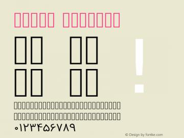 Vazir Regular Version 2-RC2; ttfautohint (v1.4.1.5-446e) Font Sample