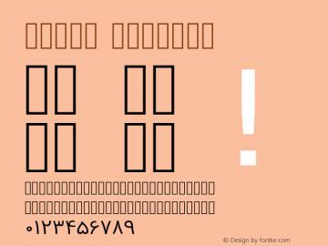 Vazir Regular Version 2-RC4; ttfautohint (v1.4.1.5-446e) Font Sample