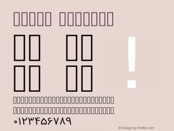 Vazir Regular Version 2-RC6; ttfautohint (v1.4.1.5-446e) Font Sample