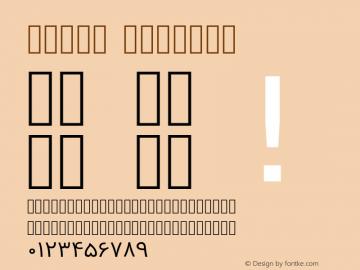 Vazir Regular Version 2-RC7-1; ttfautohint (v1.4.1.5-446e) Font Sample