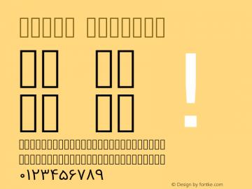 Vazir Regular Version 2-RC10; ttfautohint (v1.4.1.5-446e) Font Sample