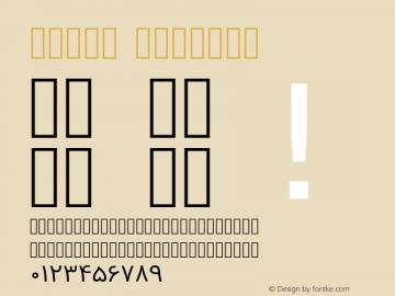 Vazir Regular Version 2-RC11; ttfautohint (v1.4.1.5-446e) Font Sample