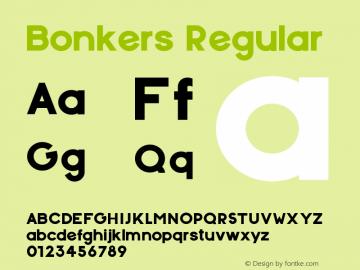 Bonkers Regular 1.000图片样张