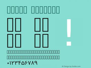 Vazir Regular Version 2-RC12; ttfautohint (v1.4.1.5-446e) Font Sample