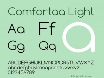 Comfortaa Font,Comfortaa Light Font,Comfortaa-Light Font