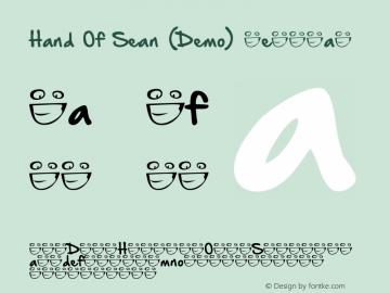 Hand Of Sean (Demo) Regular Version 1.1 September 30, 2013图片样张
