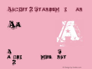 Ascent 2 Stardom Regular Version 1.00 October 5, 2007, initial release图片样张
