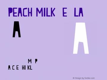 Peach Milk Regular Version 001.000图片样张