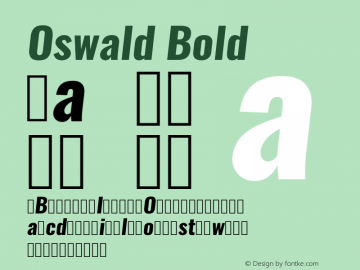 Oswald Bold 3.0; ttfautohint (v0.94.23-7a4d-dirty) -l 8 -r 50 -G 200 -x 0 -w