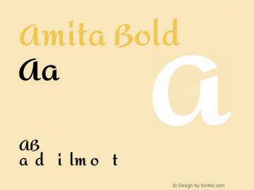 Amita Bold Version 1.003图片样张