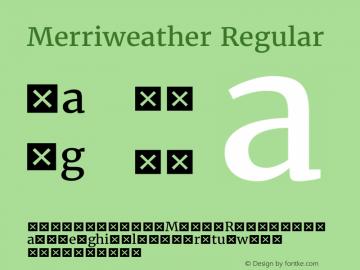 Merriweather Regular Version 1.570; ttfautohint (v1.3) -l 8 -r 32 -G 0 -x 0 -H 60 -D latn -f cyrl -m