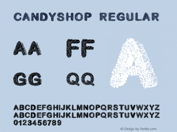 candyshop Regular Unknown图片样张
