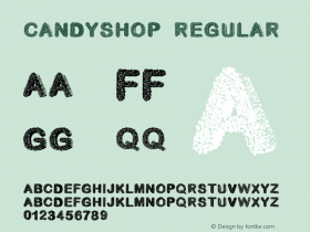 candyshop Regular Version 1.000;PS 001.001;hotconv 1.0.56图片样张
