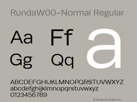 RundaW00-Normal Regular Version 1.10图片样张
