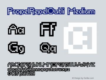 PropelRepelOutli Medium Version 001.000图片样张
