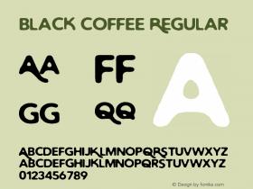 Black Coffee Regular Version 1.0图片样张