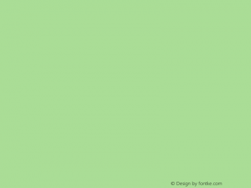 font-drawesome Regular Version 1.0图片样张