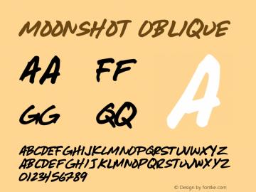 Moonshot Oblique Version 001.000图片样张