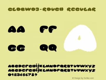 GlobW03-Rough Regular Version 1.00图片样张