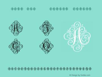 AdornSoloW95-Regular Regular Version 1.00 Font Sample