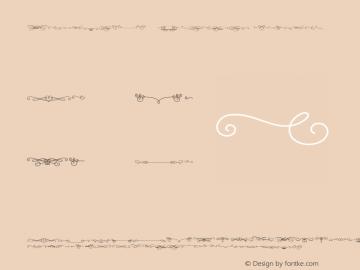 KatelynW95-Ornament Regular Version 1.00 Font Sample