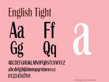 English Tight Version 1.000图片样张