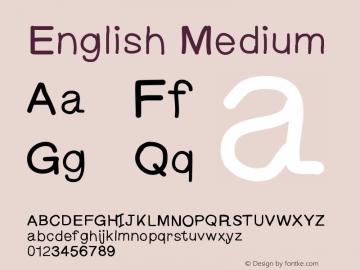 English Medium Version 001.000图片样张