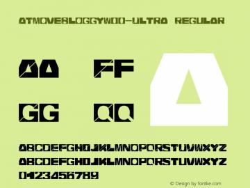 ATMoveBloggyW00-Ultra Regular Version 1.00图片样张