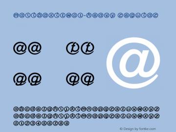 MailboxLTW01-Heavy Regular Version 1.01 Font Sample