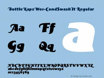 BottleKapsW01-CondSwashIt Regular Version 1.00图片样张