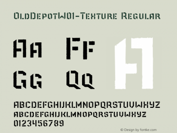 OldDepotW01-Texture Regular Version 1.40图片样张