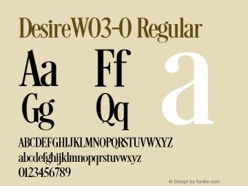DesireW03-0 Regular Version 1.00图片样张