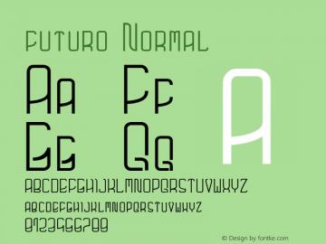 futuro Normal Unknown图片样张